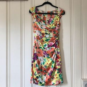 Ralph Lauren Floral Sleeveless Dress size 4